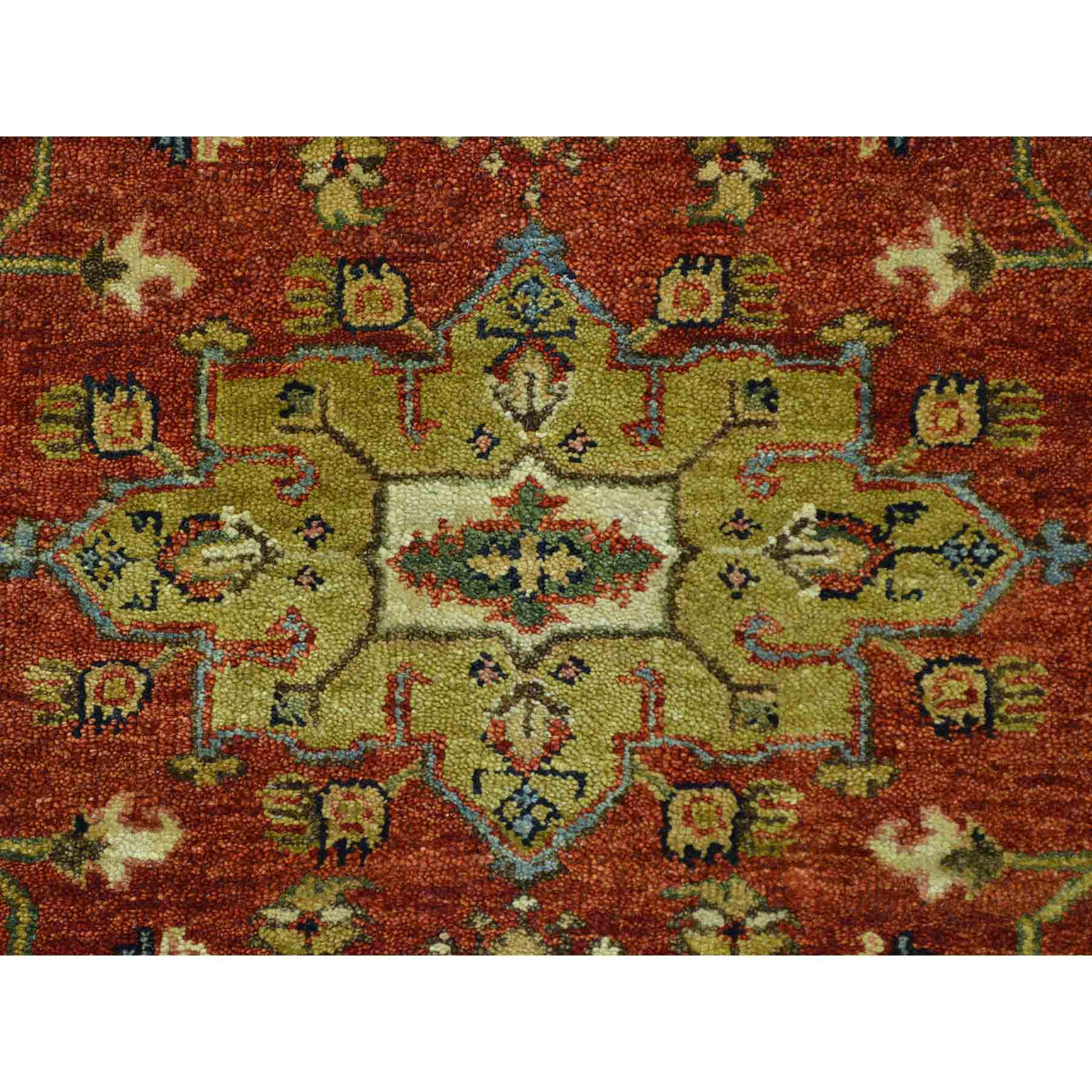 Heriz-Hand-Knotted-Rug-120530