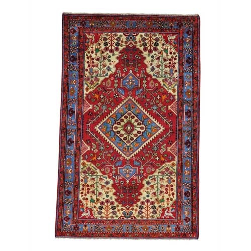 Pictorial Persian Nahavand Hand Knotted Oriental