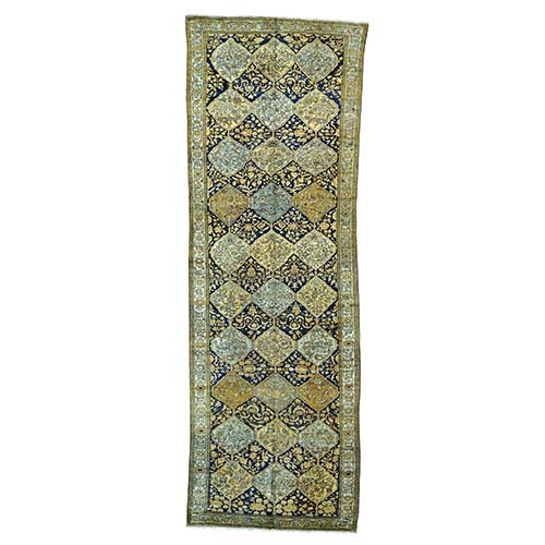 Antique Persian Bakhtiari Exc Cond Wide Runner Oriental