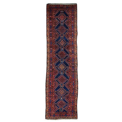 Antique North West Persian Full Pile Wide Runner Exc Cond