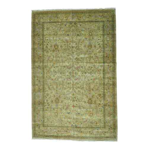 Tabriz Revival 300 KPSI Oversize Hand Knotted Oriental