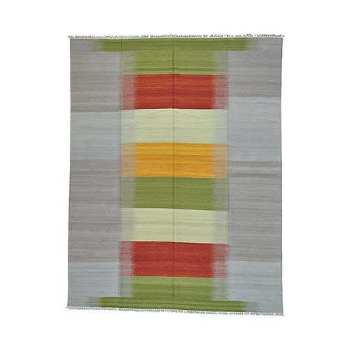 Durie Kilim Reversible Hand Woven Colorful Oriental