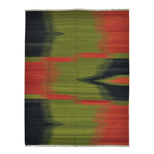 Multicolored Pure Wool Hand Woven Durie Kilim Oriental