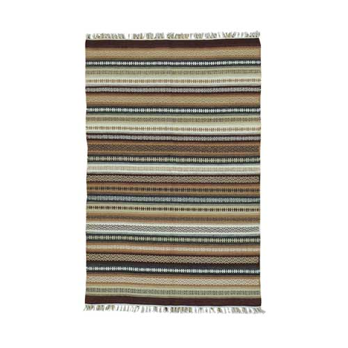 Reversible Flat Weave Pure Wool Colorful Durie Kilim