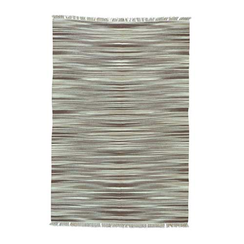 Reversible Durie Kilim Pure Wool Hand Woven Flat Weave