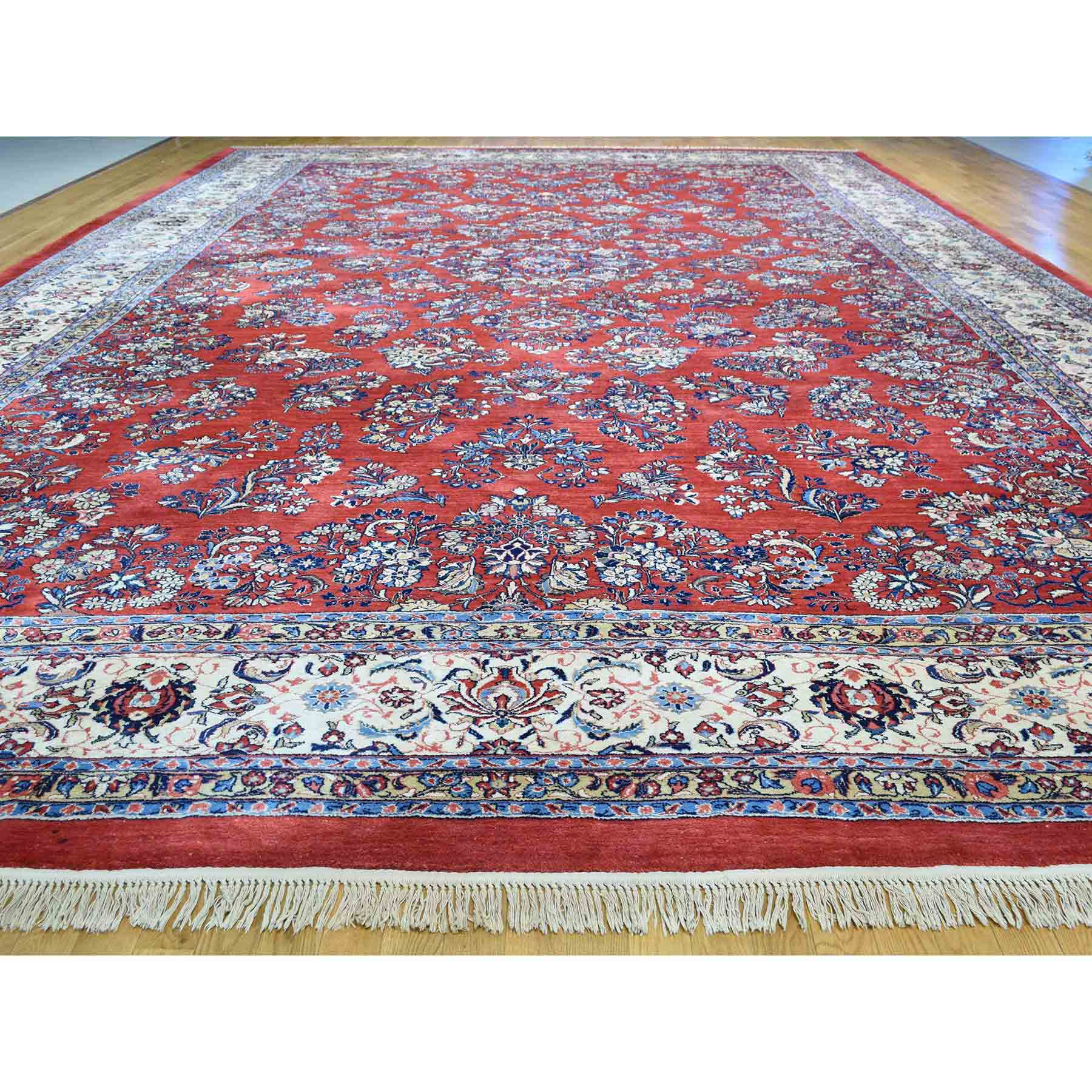 Antique-Hand-Knotted-Rug-162380