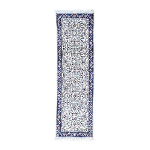 Clearance Sale Hand-Knotted Sino Mahal Pure Wool Runner