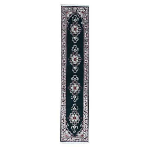 Reduced Price Sino Sarouk 200 Kpsi Wool And Silk Runner