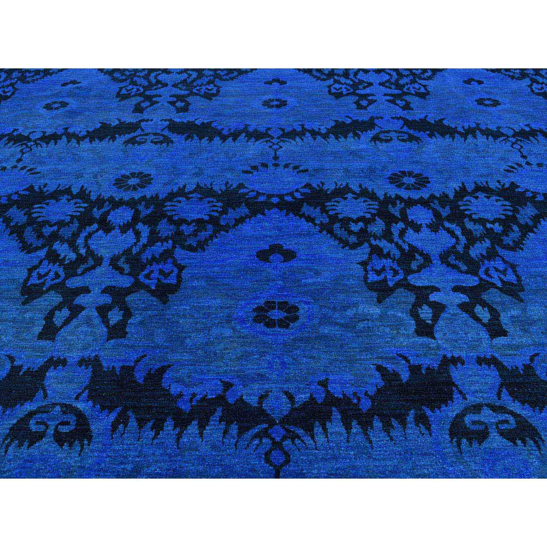 Overdyed-Vintage-Hand-Knotted-Rug-172535