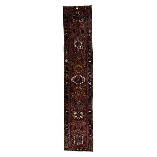 Antique Persian Karajeh Excellent Condition Wide Runner