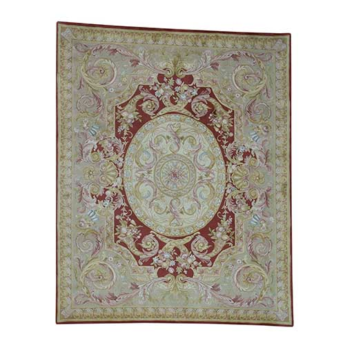 Savonnerie Hand-Knotted Thick And Plush Napoleon III
