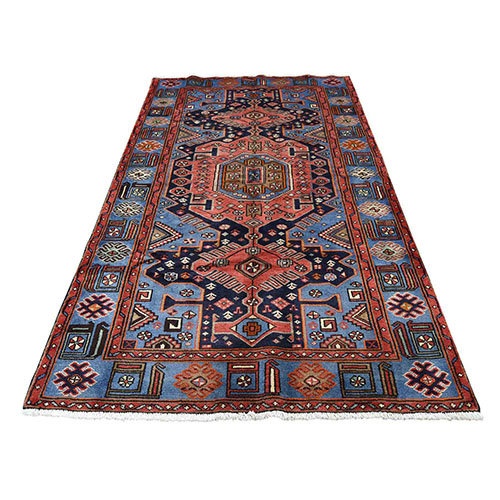 Hand-Knotted New Persian Malayer Pure Wool Oriental