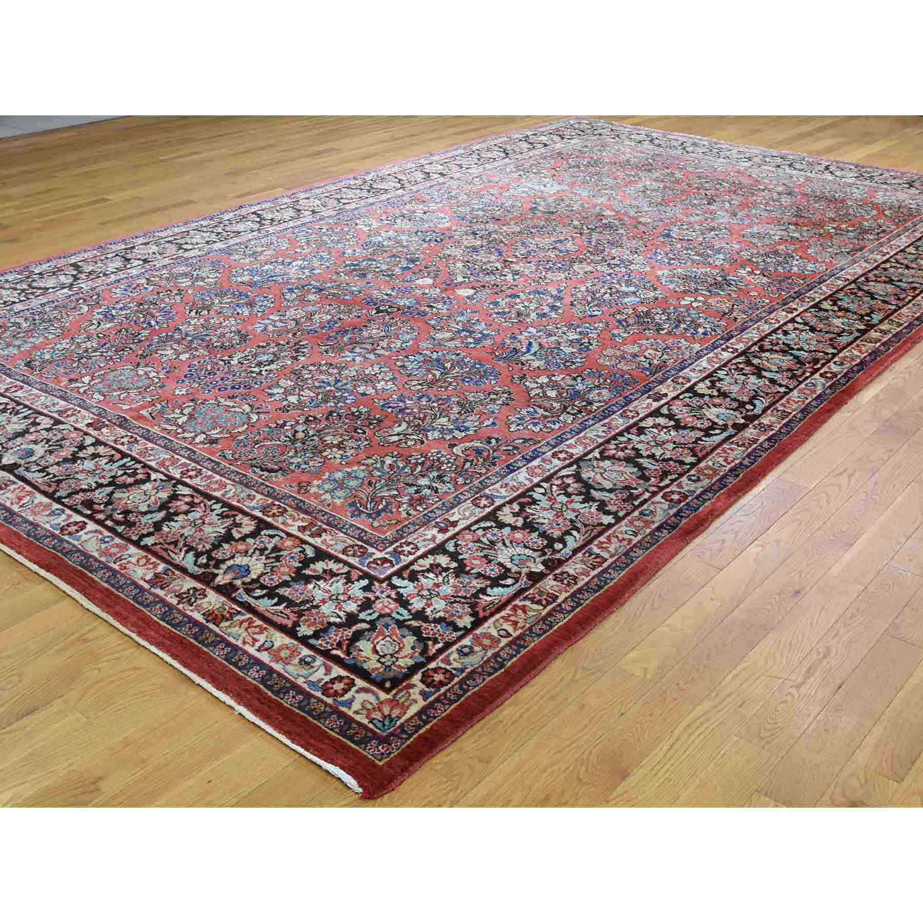 Antique-Hand-Knotted-Rug-205900