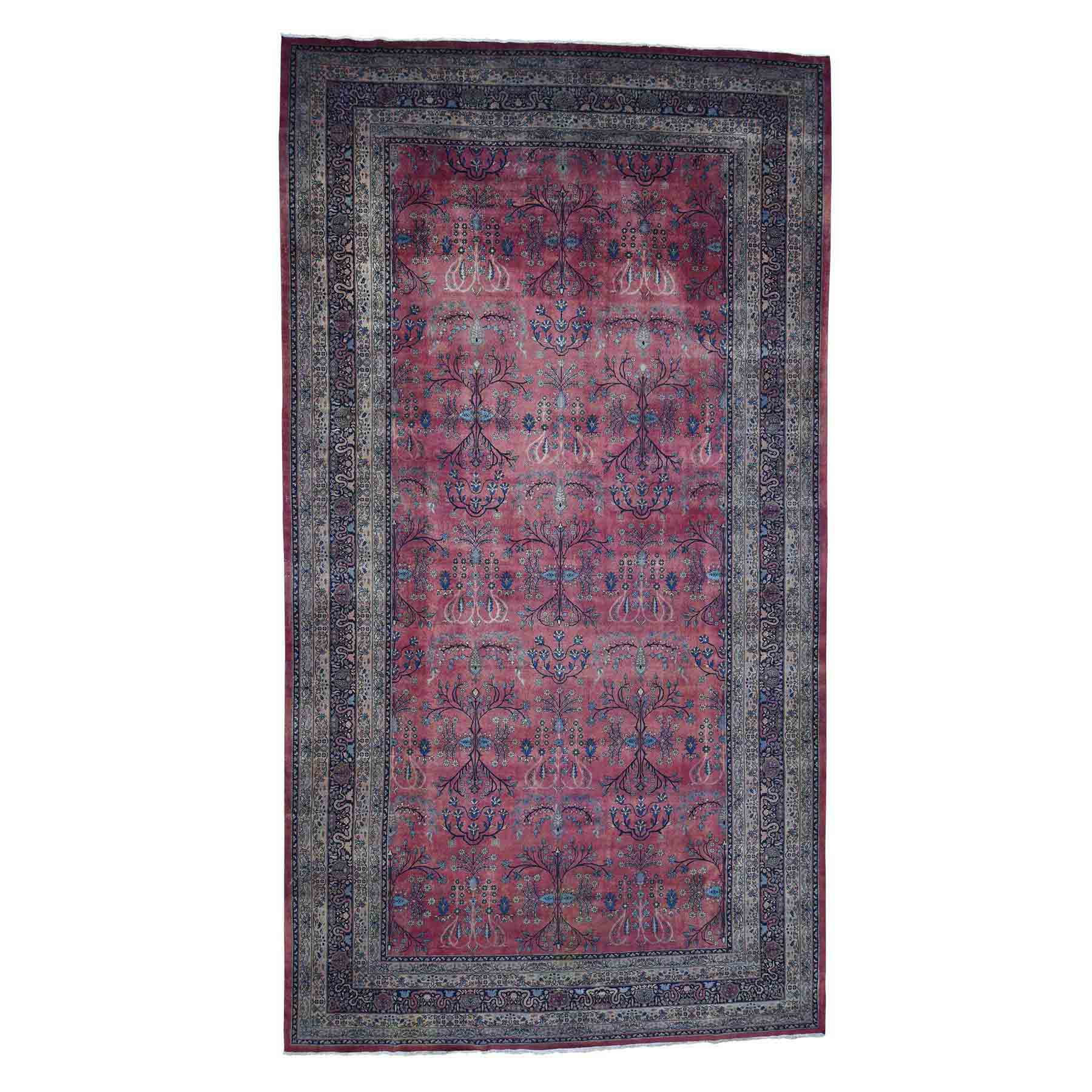 Antique-Hand-Knotted-Rug-207000