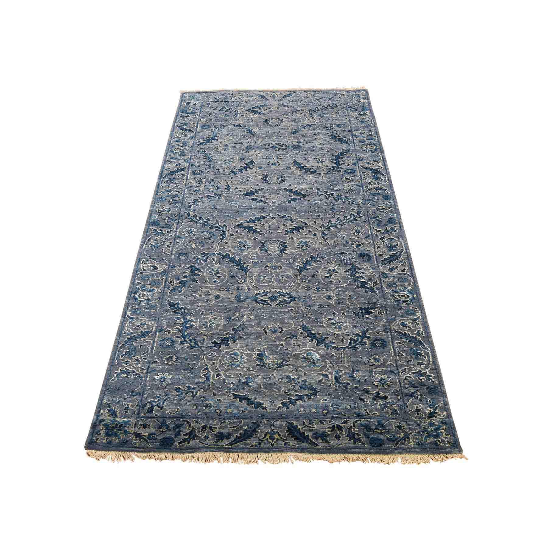 Modern Contemporary Hand Knotted Rug 205585