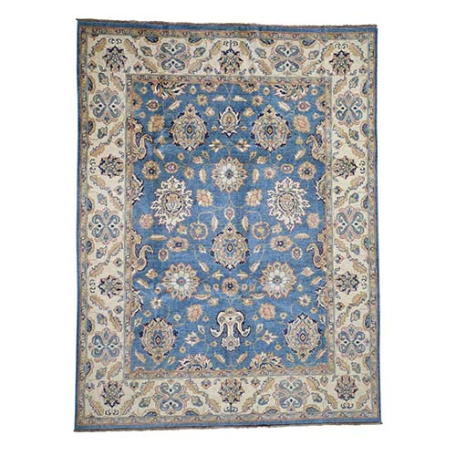 Special Kazak With Mahal Design Pure Wool Hand-Knotted Oriental