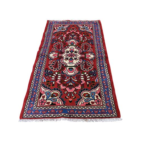 New Persian Lilahan Pure Wool Hand-Knotted Oriental