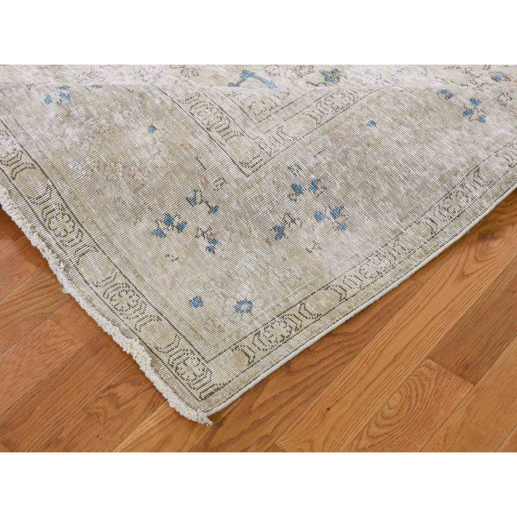 Overdyed-Vintage-Hand-Knotted-Rug-218980