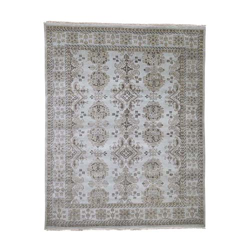 On Clearance Pure Wool And Sturdy Oushak Design Hand-Knotted Oriental