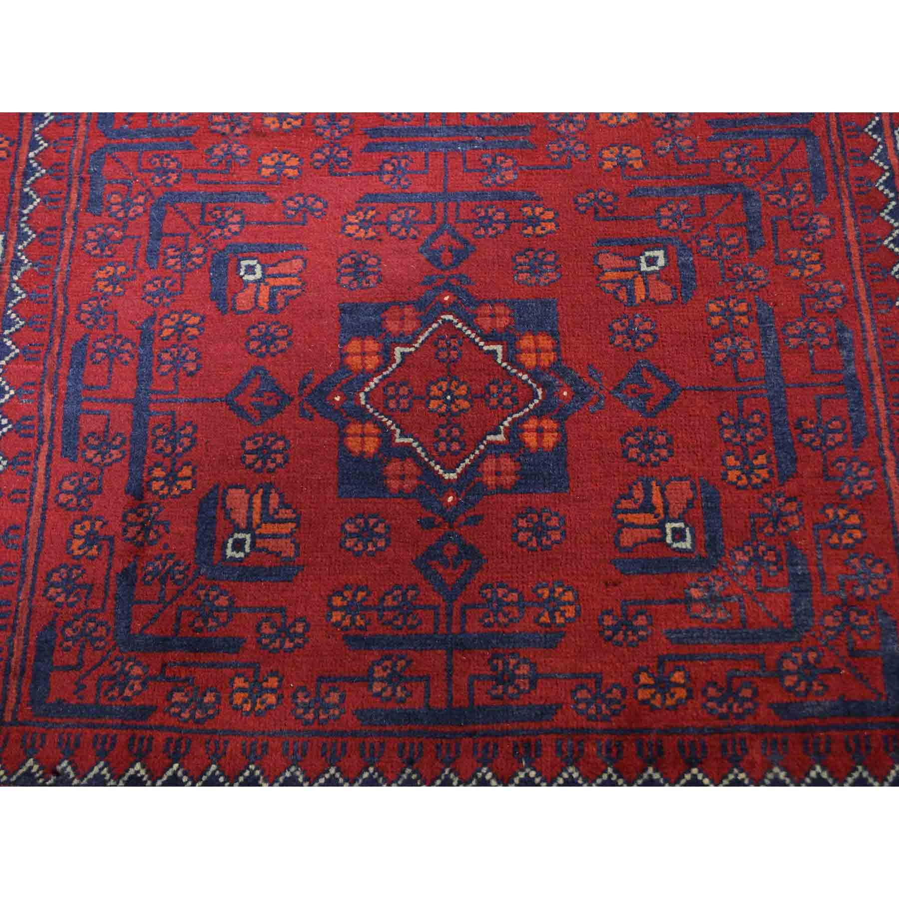 Tribal-Geometric-Hand-Knotted-Rug-224890