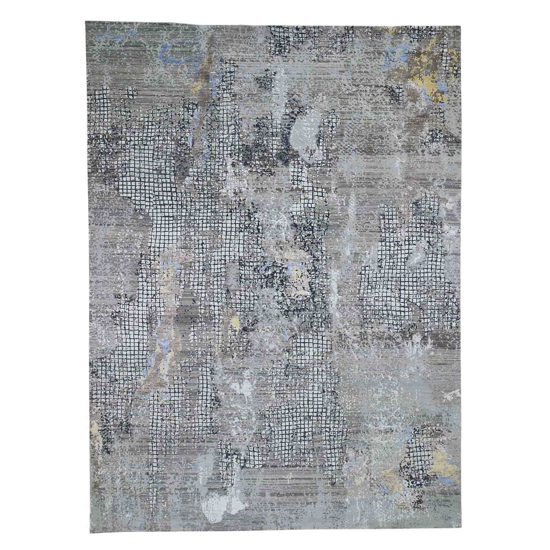 Modern-and-Contemporary-Hand-Knotted-Rug-230400