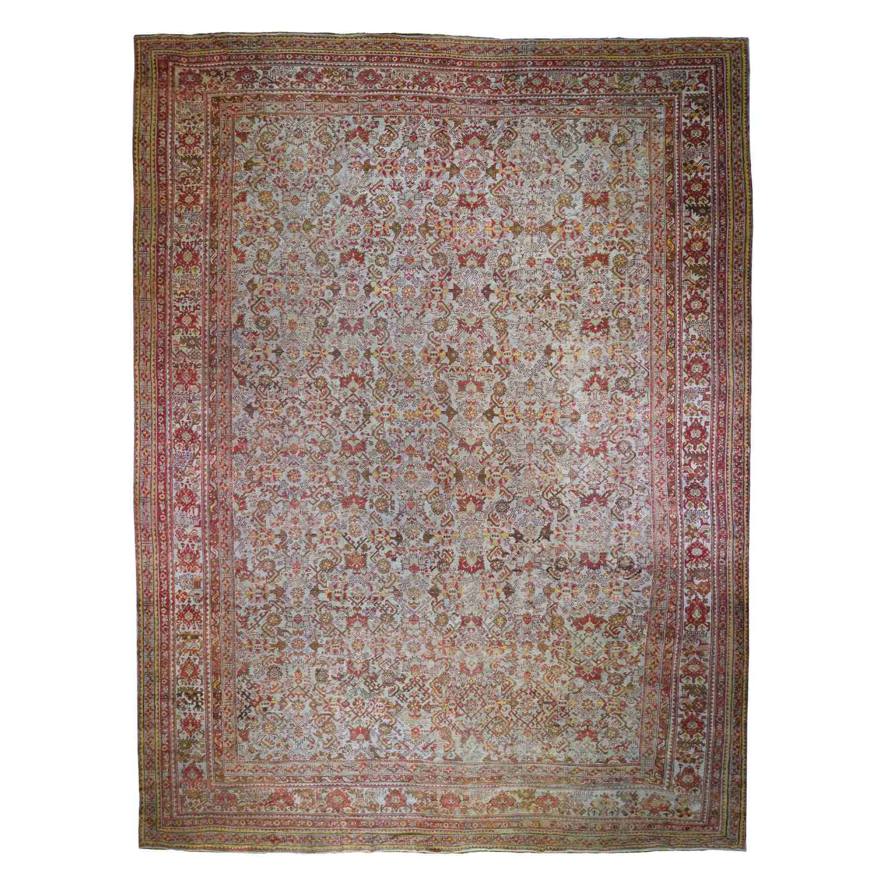 Antique-Hand-Knotted-Rug-235400