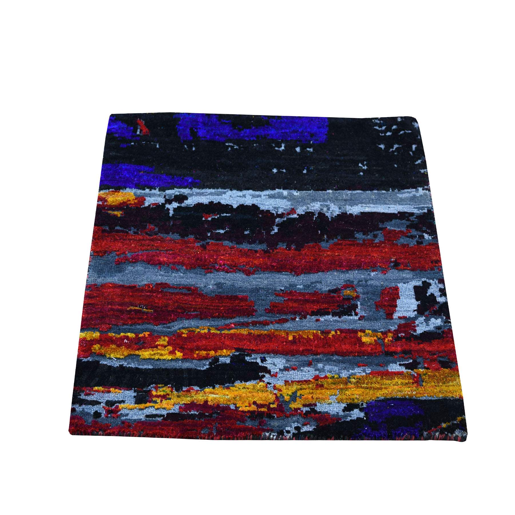 Wool-and-Silk-Hand-Knotted-Rug-237005