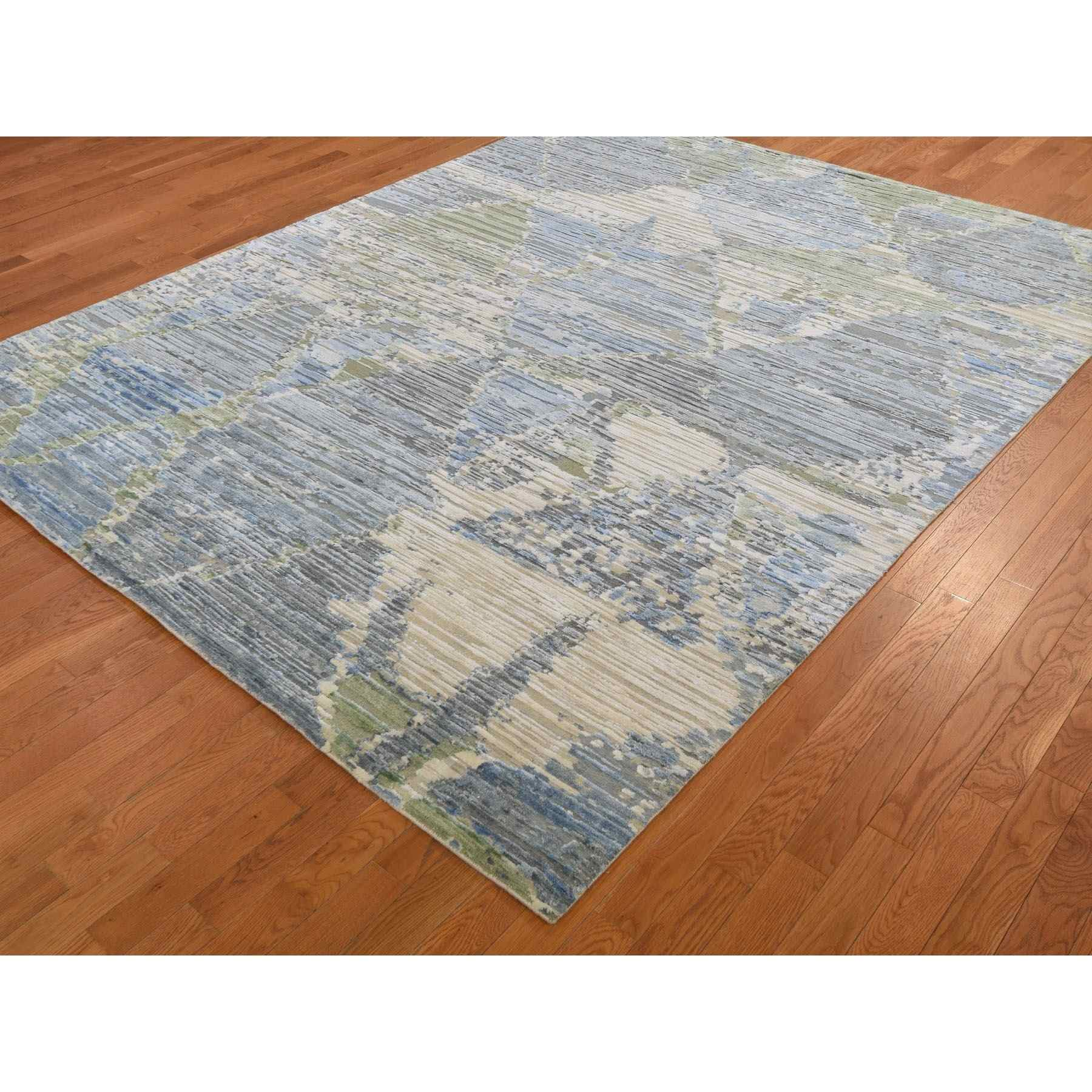 Modern-and-Contemporary-Hand-Knotted-Rug-242575