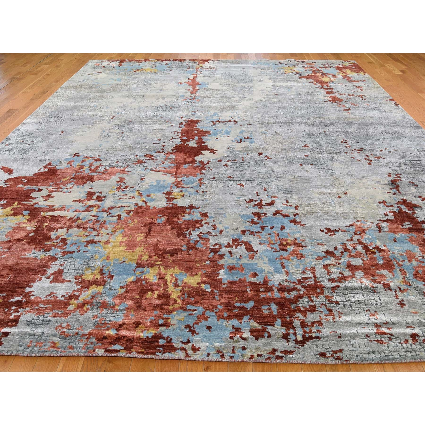 Modern-and-Contemporary-Hand-Knotted-Rug-244360