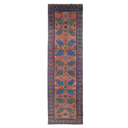 Antique North West Persian Wide Runner Very Good Condition Oriental