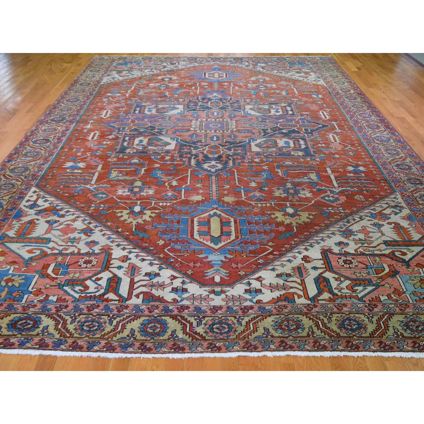 Antique-Hand-Knotted-Rug-245245