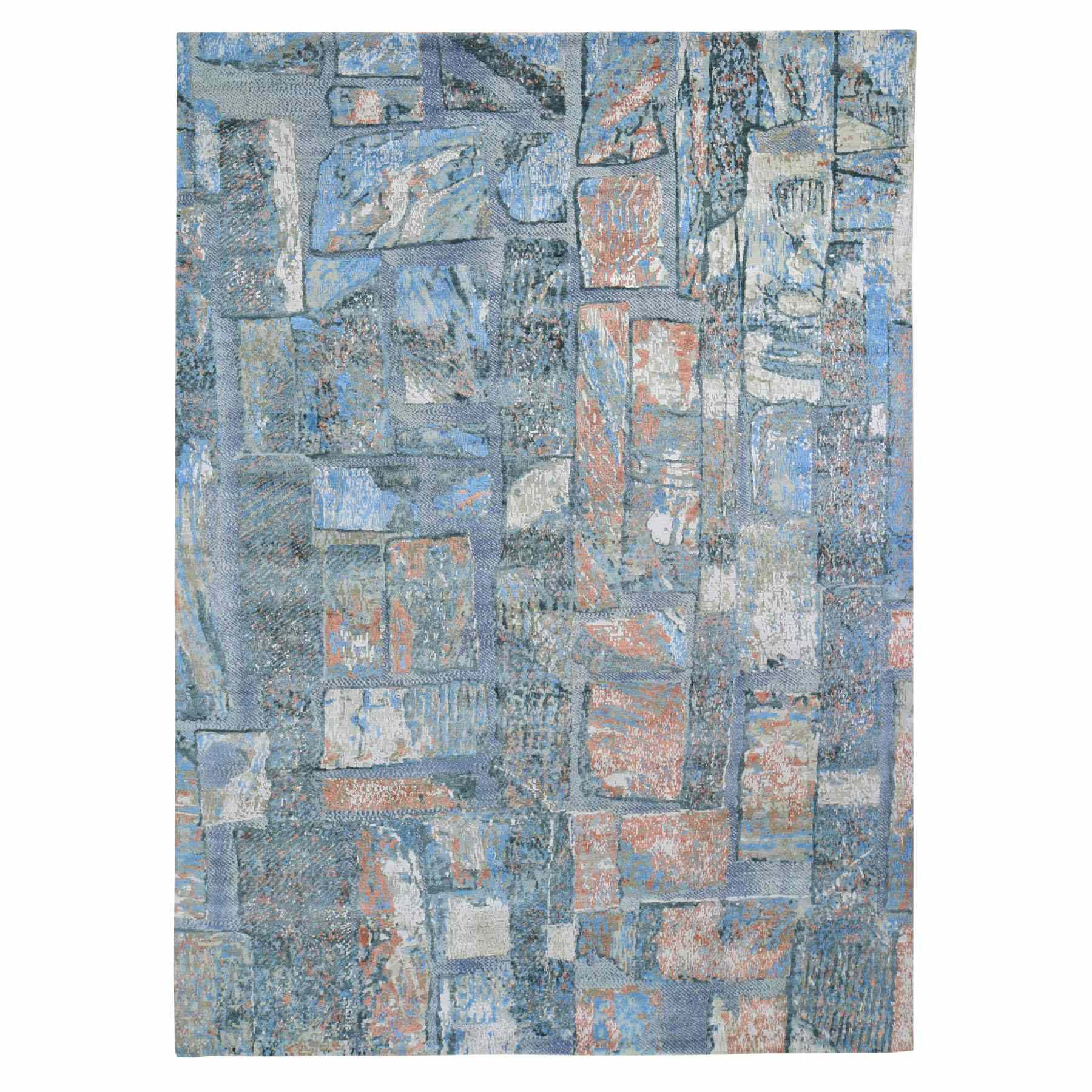 Modern-and-Contemporary-Hand-Knotted-Rug-245425