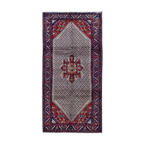 Gallery Size New Persian Hamadan Pure Wool Hand Knotted Oriental Rug