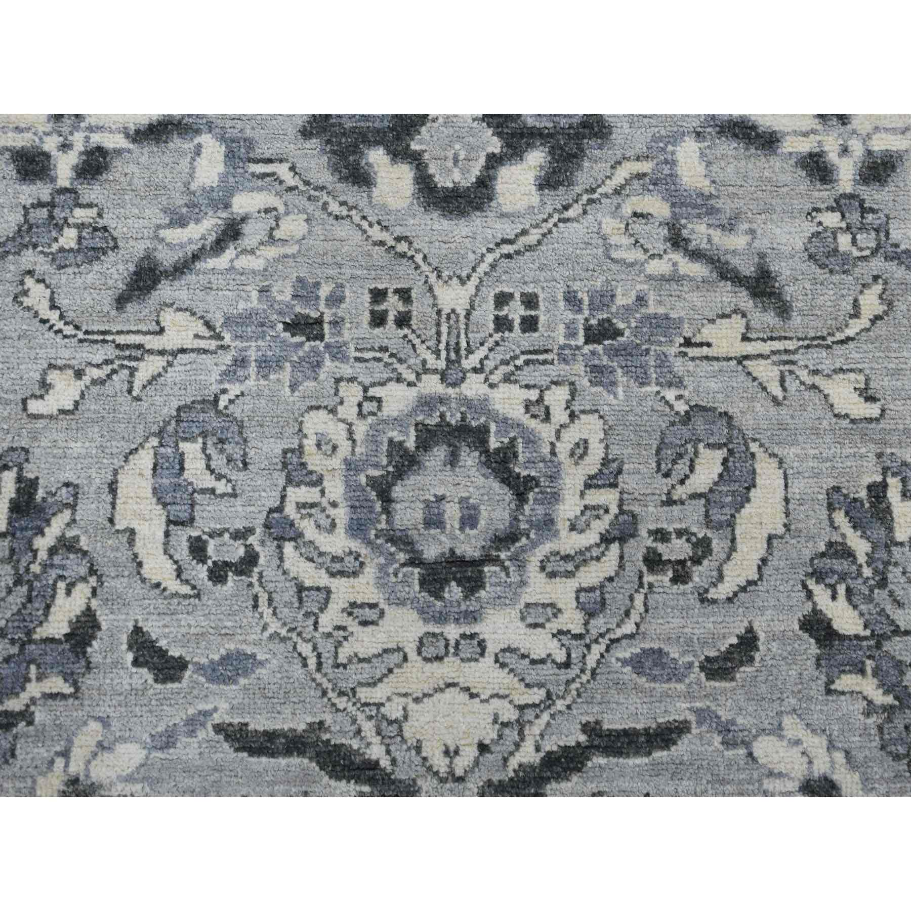 Oushak-And-Peshawar-Hand-Knotted-Rug-257270