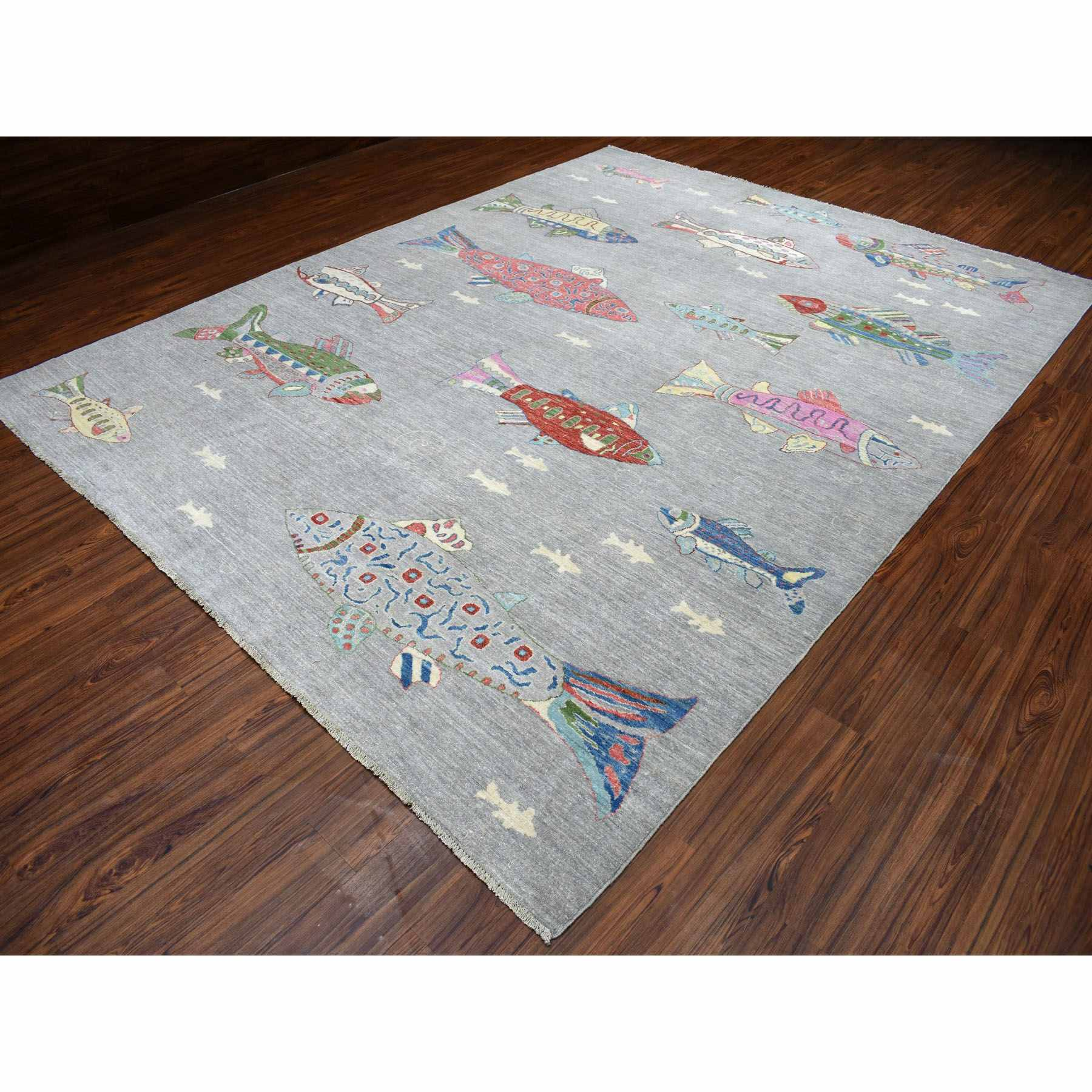Modern-and-Contemporary-Hand-Knotted-Rug-266895