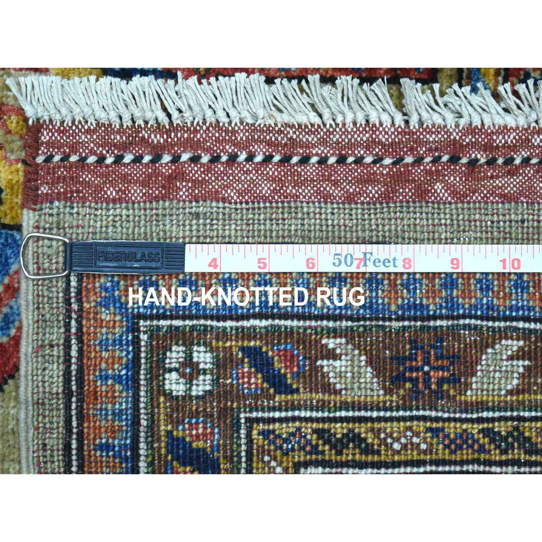 Tribal-Geometric-Hand-Knotted-Rug-266805
