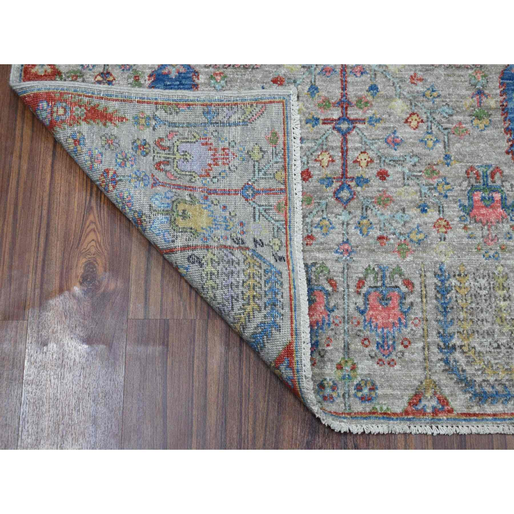 Oushak-And-Peshawar-Hand-Knotted-Rug-270655