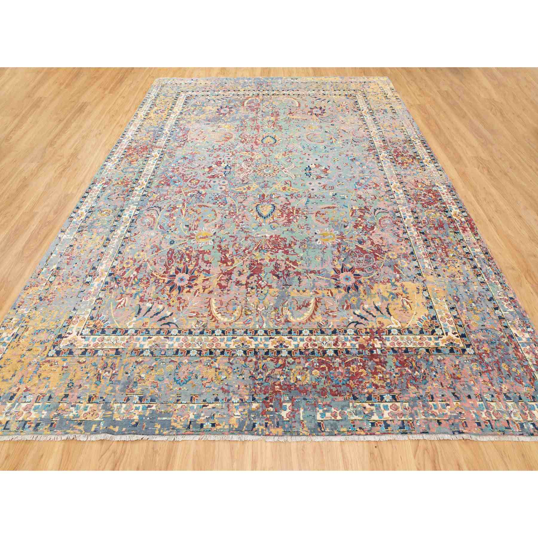 Wool-and-Silk-Hand-Knotted-Rug-292145