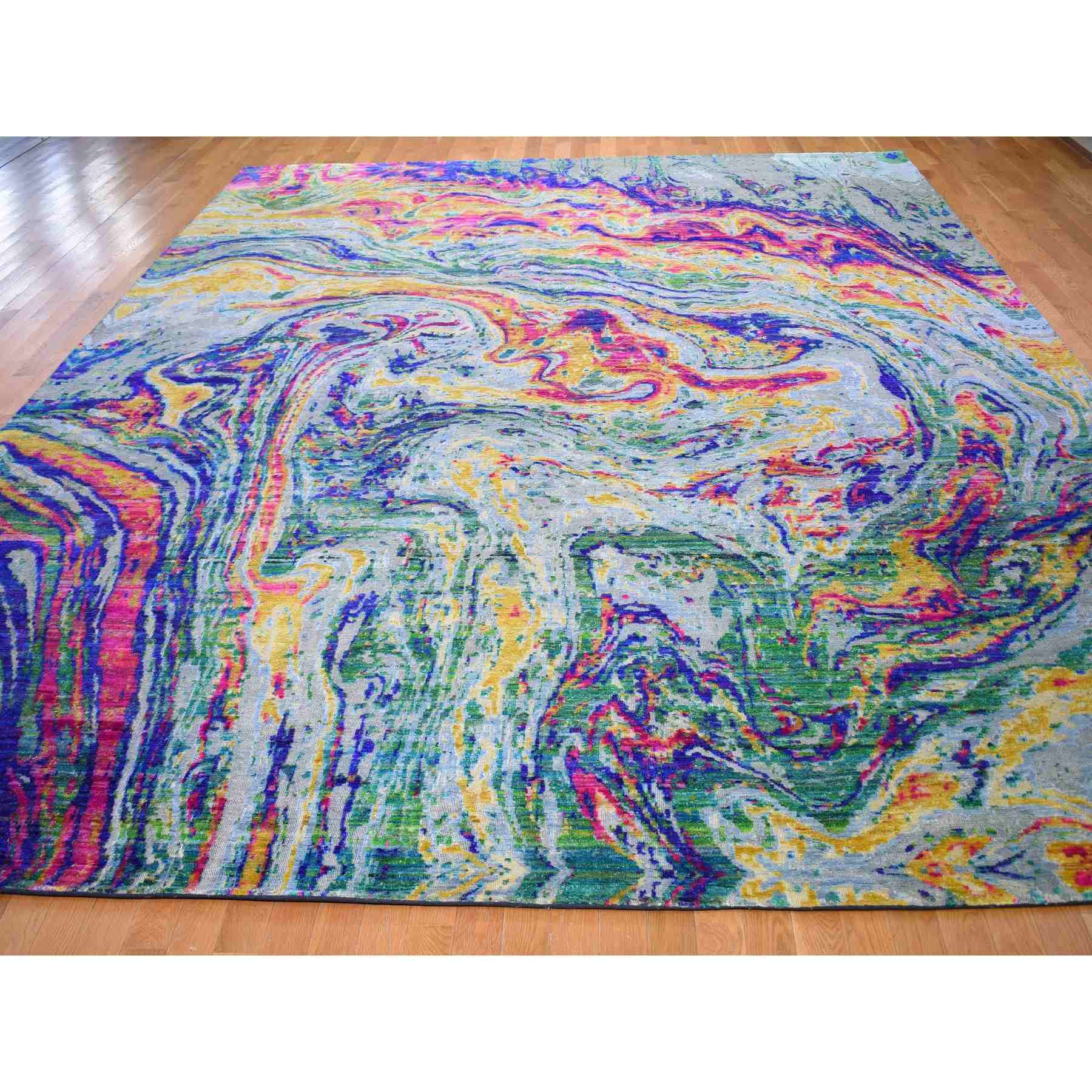 Modern-and-Contemporary-Hand-Knotted-Rug-296350