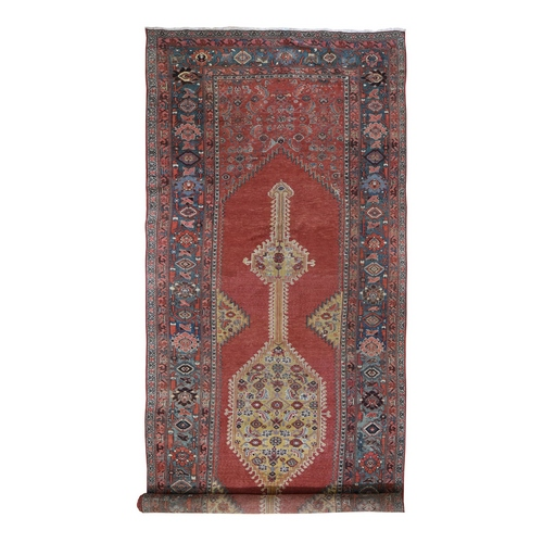 Gallery Size Antique North West Persian Exc Condition, Clean Hand Knotted Oriental